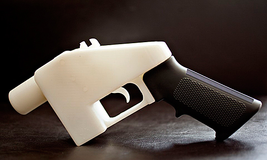 Three-D Modling Gun