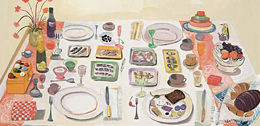 Maira Kalman illustration for Food Rules