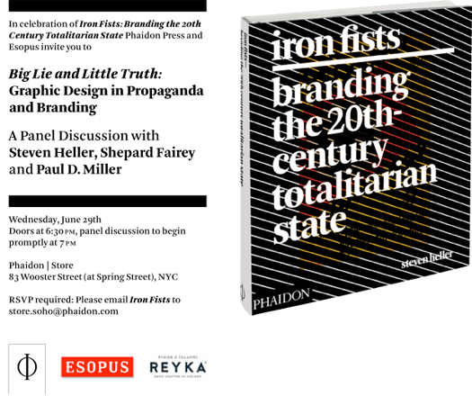 Big Lie and Little Truth: Graphic Design in Propaganda and Branding