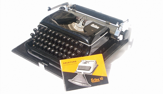 Typewriter from the The Wende Museum